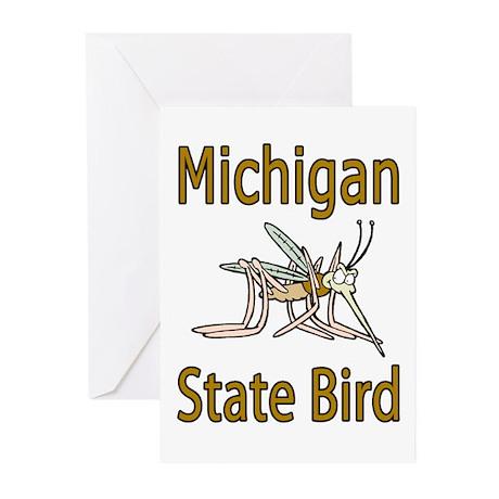 Michigan State Bird Greeting Cards (Pk of 10)