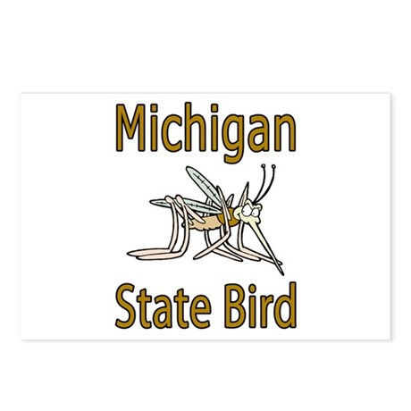 Michigan State Bird Postcards (Package of 8)