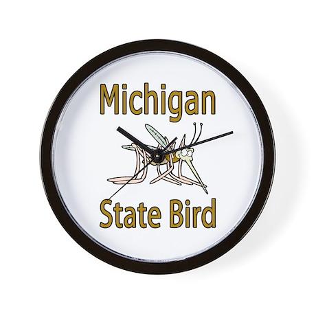 Michigan State Bird Wall Clock