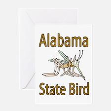 Alabama State Bird Greeting Card