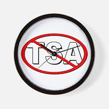 Anti-TSA Wall Clock