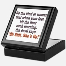 Be the Kind of Woman Keepsake Box