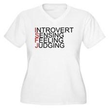 ISFJ Spelled Out T-Shirt