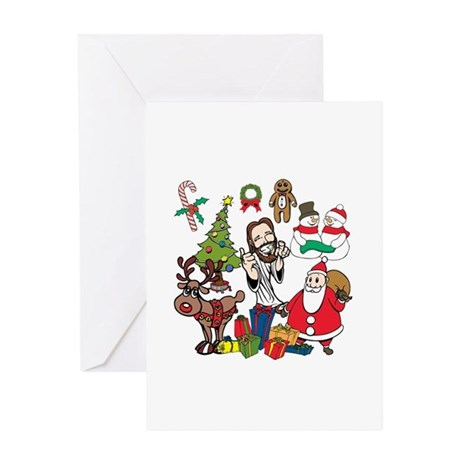 All about Jesus! Greeting Card