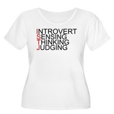 ISTJ Spelled Out T-Shirt