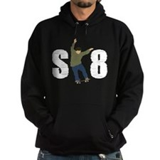 SK8 skateboarding Hoodie