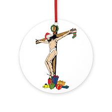Christian Tree Ornament (Round)