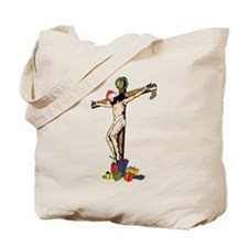 Christian Tree Tote Bag