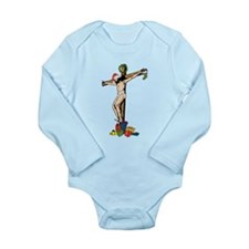 Christian Tree Long Sleeve Infant Bodysuit