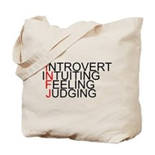 INFJ Spelled Out Tote Bag