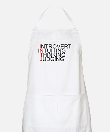INTJ Spelled Out Apron