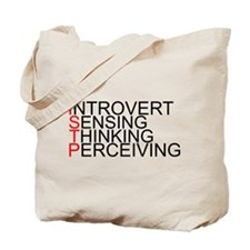 ISTP Spelled Out Tote Bag