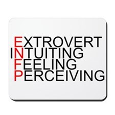 ENFP Spelled Out Mousepad