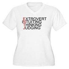 ENTJ Spelled Out T-Shirt