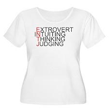 ENTJ Spelled Out T-Shirt