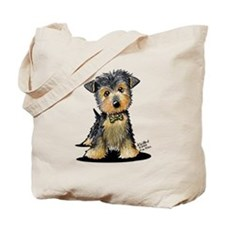 Little Gent yorkie Tote Bag