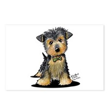 Little Gent yorkie Postcards (Package of 8)