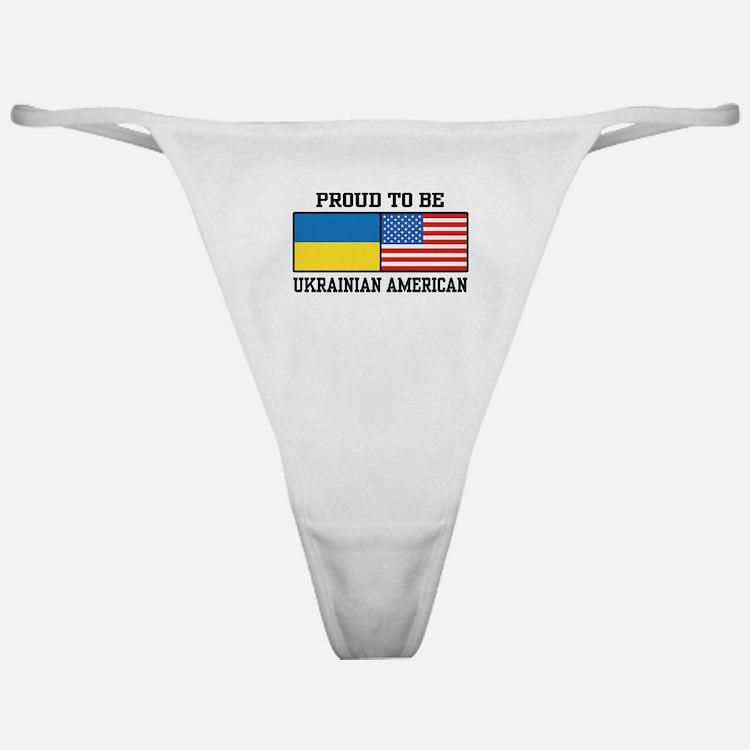 Ukrainian American Classic Thong