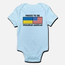 Ukrainian American Infant Bodysuit