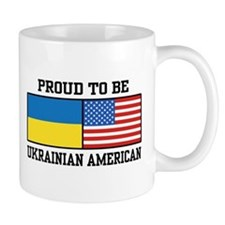 Ukrainian American Mug