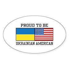Ukrainian American Decal