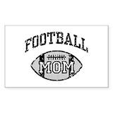 Football mom Bumper Stickers