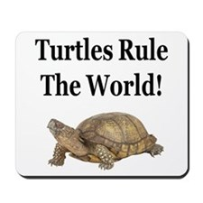 TURTLES RULE! Mousepad