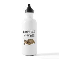TURTLES ROCK! Water Bottle