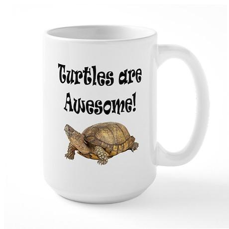 AWESOME TURTLE Large Mug