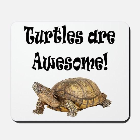 AWESOME TURTLE Mousepad