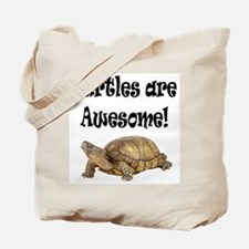 AWESOME TURTLE Tote Bag