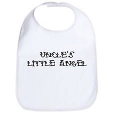 Uncle's Little Angel Bib