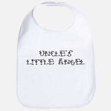 Uncle's Little Angel Bib