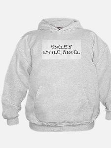 Uncle's Little Angel Hoodie