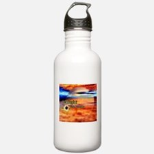 Funny Twilight flower Water Bottle