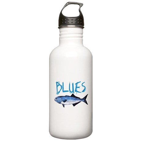 Blues Stainless Water Bottle 1.0L