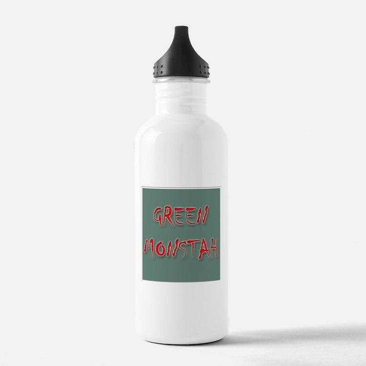 Green Monstah Water Bottle