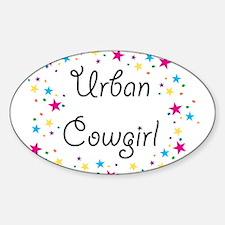 Urban Cowgirl Decal