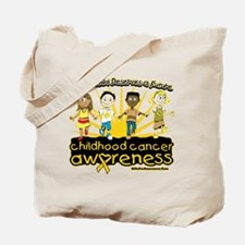 Childhood Cancer Every Child Tote Bag