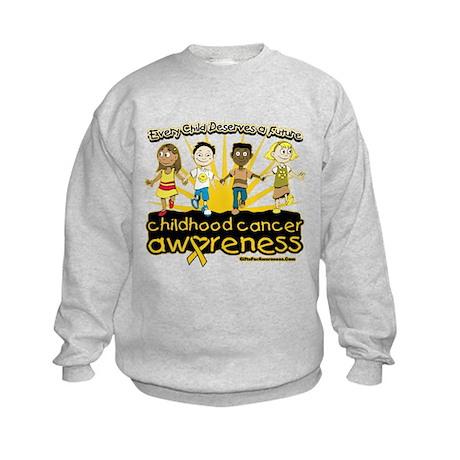 Childhood Cancer Every Child Kids Sweatshirt