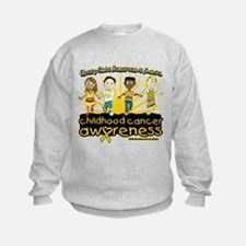 Childhood Cancer Every Child Sweatshirt