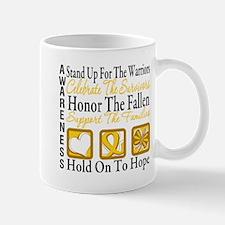 Childhood Cancer StandUp Mug