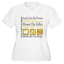 Childhood Cancer StandUp T-Shirt