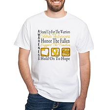Childhood Cancer StandUp Shirt