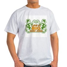 Big Irish Jugs St.Patrick's Day Ash Grey T-Shirt