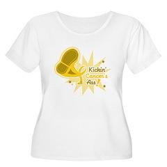 Kickin Childhood Cancer Ass T-Shirt