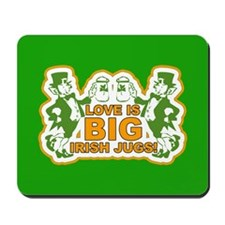 Big Irish Jugs St.Patrick's Day Mousepad