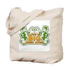 Big Irish Jugs St.Patrick's Day Tote Bag
