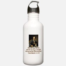 No Kings, No Priests Sports Water Bottle