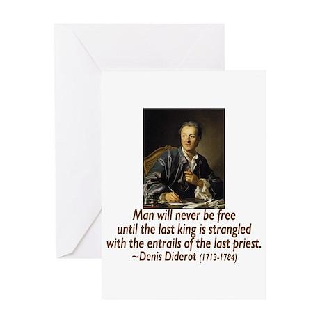 No Kings, No Priests Greeting Card